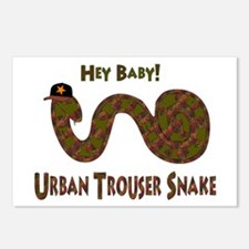 Urban Trouser Snake Postcards (Package of 8)