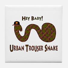Urban Trouser Snake Tile Coaster