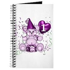 BIRTHDAY AGE: 1 (purple) Journal