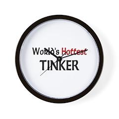World's Hottest Tinker Wall Clock
