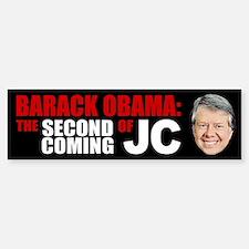Second Coming of Jimmy Carter Bumper Bumper Bumper Sticker