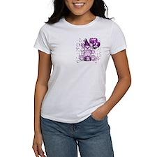 BIRTHDAY AGE: 2 (purple) Tee