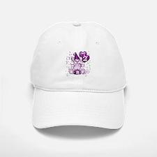 BIRTHDAY AGE: 2 (purple) Baseball Baseball Cap