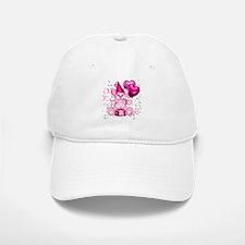 BIRTHDAY/BALLOONS (pink) Baseball Baseball Cap