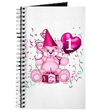 BIRTHDAY AGE 1 (pink) Journal