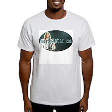A Man And His Accordion Ash Grey T-Shirt