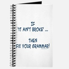 Fix your broken grammar Journal