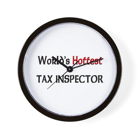 World's Hottest Tax Inspector Wall Clock