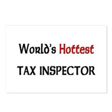 World's Hottest Tax Inspector Postcards (Package o