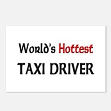World's Hottest Taxi Driver Postcards (Package of