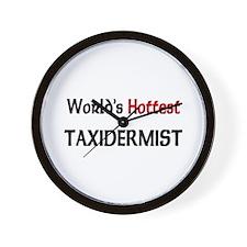World's Hottest Taxidermist Wall Clock