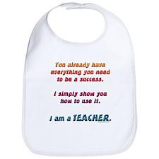 Everything you need teacher Bib
