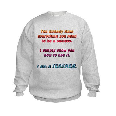 Everything you need teacher Kids Sweatshirt