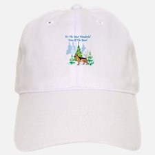Christmas Time German Shepard Baseball Baseball Cap