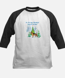 Christmas Time German Shepard Tee