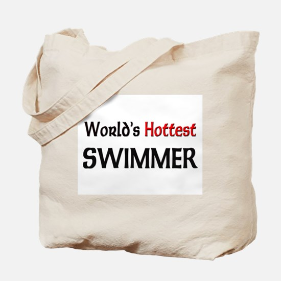 World's Hottest Swimmer Tote Bag