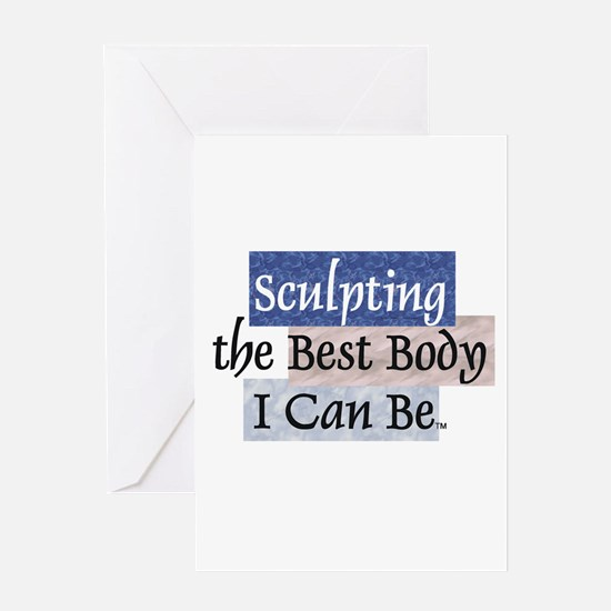 TOP Sculpting Best Body Greeting Card