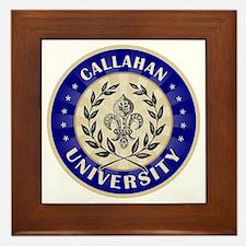 Callahan Last Name University Framed Tile