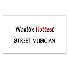 World's Hottest Street Musician Decal