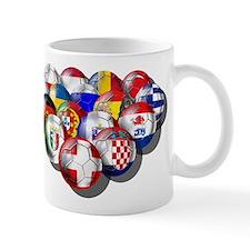 European Soccer Football Mug