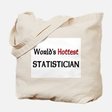 World's Hottest Statistician Tote Bag