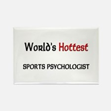 World's Hottest Sports Psychologist Rectangle Magn