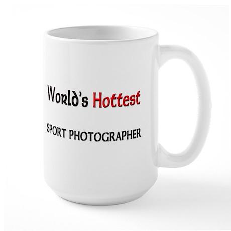 World's Hottest Sport Photographer Large Mug