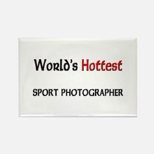 World's Hottest Sport Photographer Rectangle Magne