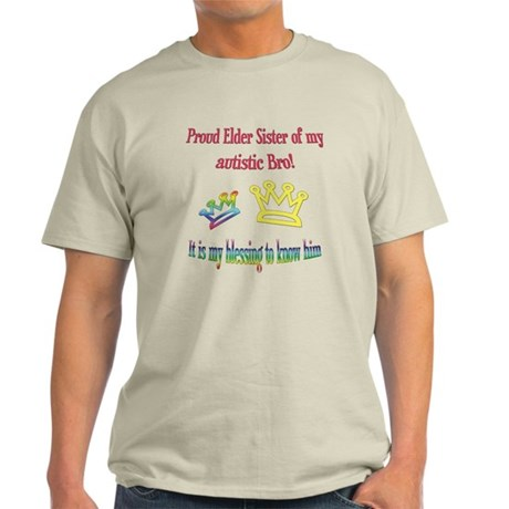 Proud Big Sister Light T-Shirt