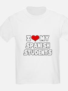 """I Love My Spanish Students"" T-Shirt"