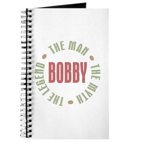 Bobby Man Myth Legend Journal