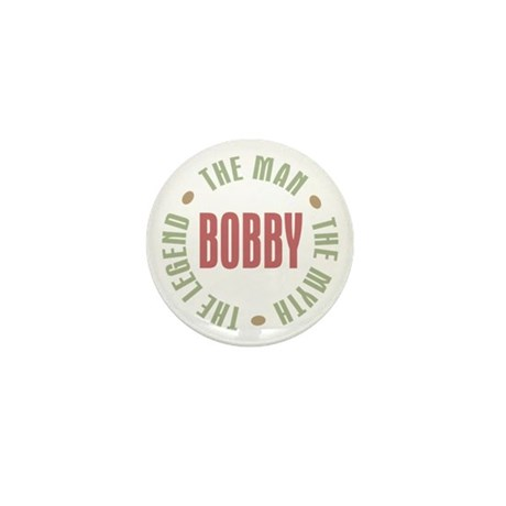 Bobby Man Myth Legend Mini Button (10 pack)