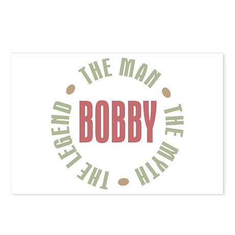 Bobby Man Myth Legend Postcards (Package of 8)