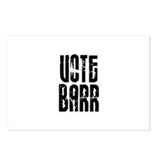Vote Barr Postcards (Package of 8)