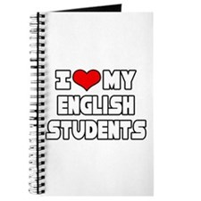 """I Love My English Students"" Journal"