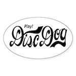 Play! Discdog Oval Sticker