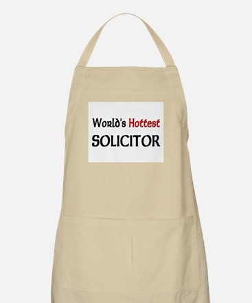 World's Hottest Solicitor BBQ Apron