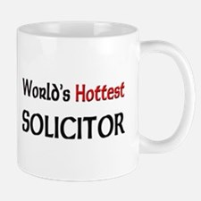 World's Hottest Solicitor Small Small Mug