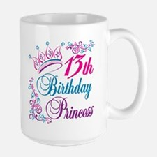 13th Birthday Princess Mug