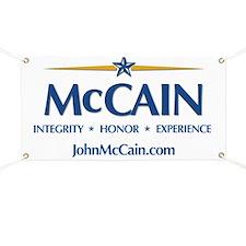 McCain Yard Signs Banner