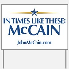 McCain Rally Yard Sign