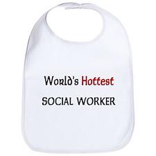 World's Hottest Social Worker Bib