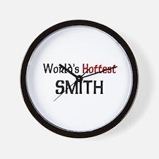 World's Hottest Smith Wall Clock