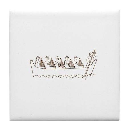 Harp Water Music Tile Coaster