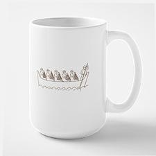 Harp Water Music Large Mug