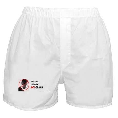 Pro-God Pro-Gun - Men Boxer Shorts