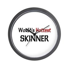 World's Hottest Skinner Wall Clock