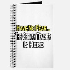"""""""No Fear, German Teacher"""" Journal"""