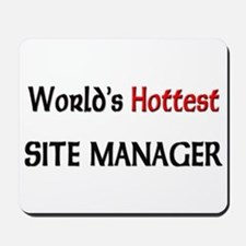 World's Hottest Site Manager Mousepad