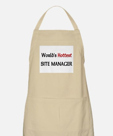 World's Hottest Site Manager BBQ Apron